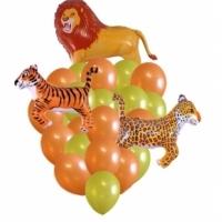 Животные, рыбы, птицы из воздушных шаров