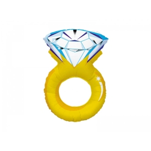 """Шар фольгированный """"Кольцо с бриллиантом"""" 102 см. С гелием"""
