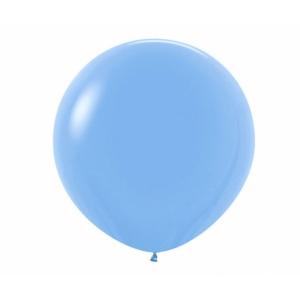 """Шар гигант метровый гелиевый голубой 100 см (36"""")"""