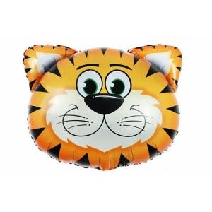 """Шар фольгированный """"Тигр"""" 74 см. С гелием"""