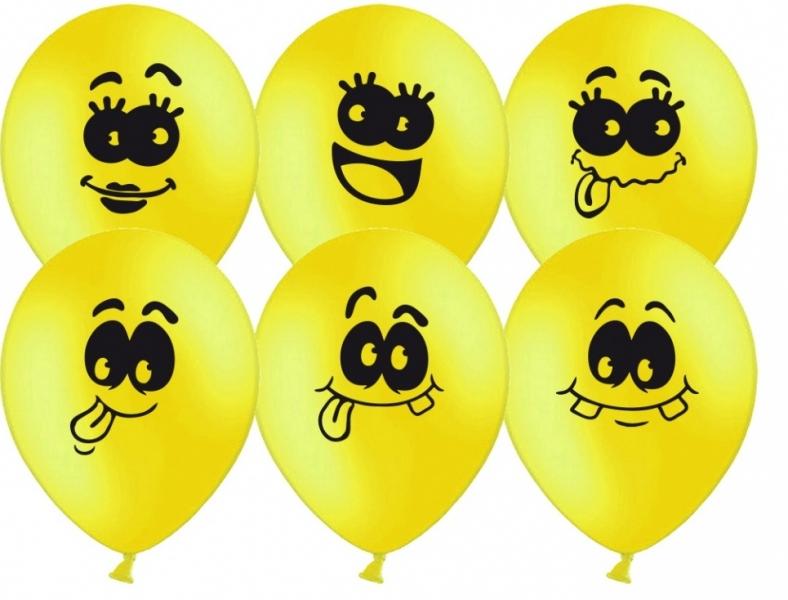 Прикольные воздушные шары рисунок