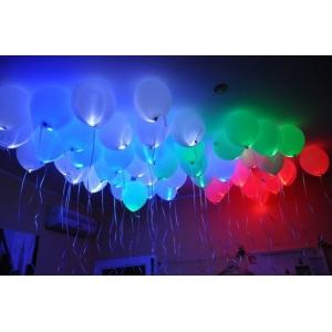Светящееся облако из 20 шаров