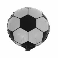 """Шар фольгированный """"Футбольный мяч"""" 48 см. С гелием"""