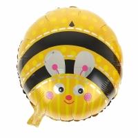 """Шар фольгированный """"Пчёлка"""" 48 см. С гелием"""
