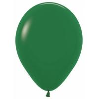 """Шар гелиевый Тёмно-зелёный (Пастель) 30 см (12"""")"""