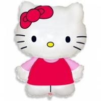 """Шар фольгированный """"Hello Kitty"""" 67 см. С гелием"""