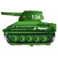 """Шар фольгированный """"Танк Т-34"""" 79 см. С гелием"""