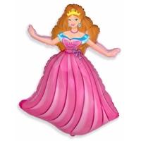 """Шар фольгированный """"Принцесса Аврора"""" 98 см. С гелием"""