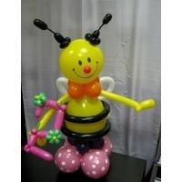 """Фигура из шаров """"Пчёлка"""""""
