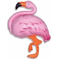 """Шар фольгированный """"Фламинго"""" 130 см. С гелием"""