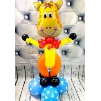 """Фигура из шаров """"Жирафик"""""""