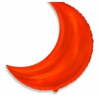 Шар фольгированный месяц(красный) 89 см. С гелием