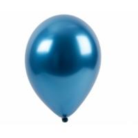 "Шар гелиевый хром синий, 12"" (30 см)"