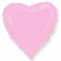 """Шар фольгированный """"Сердце""""(розовый) 48 см. С гелием"""