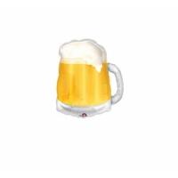 """Шар фольгированный """"Кружка пива"""" 58 см. С гелием"""