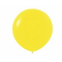 "Шар гигант метровый гелиевый жёлтый 100 см (36"")"
