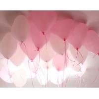 Светящееся облако из 30 шаров-сердечек